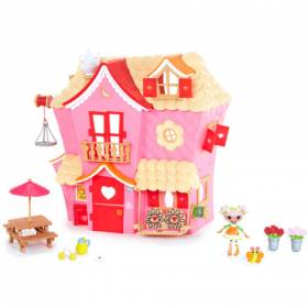 She Also Has The Silly Fun House Playset Too, But Had No U0027houseu0027 As Such U2013  Until Now. This Is A Great Addition To The World Of Lalaloopsy!