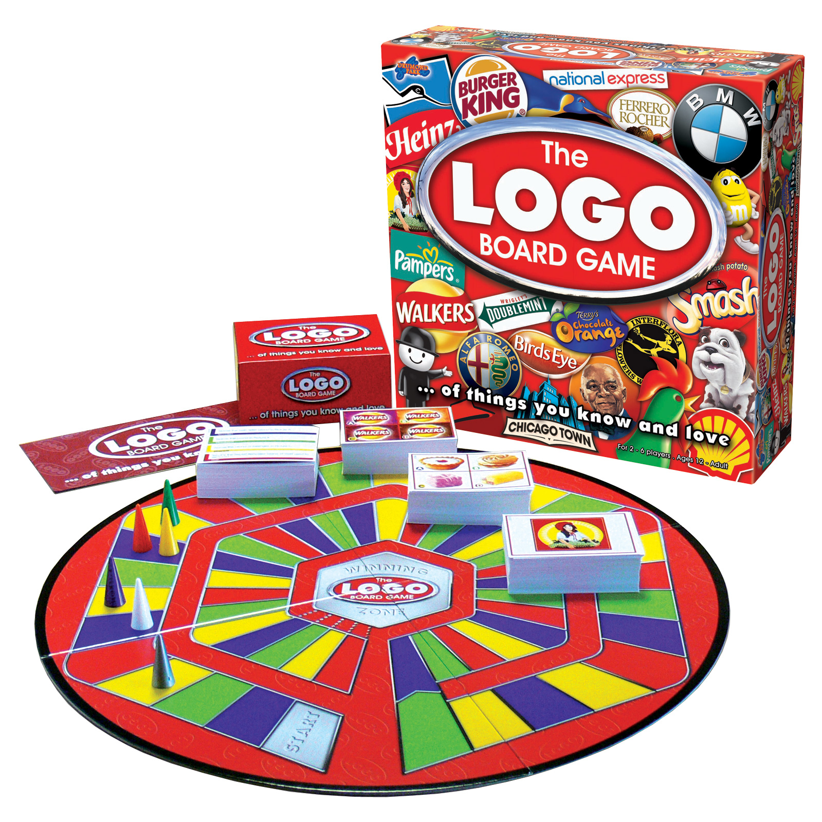 Logo App / Logo Board Game Competition. - Pampered Presents