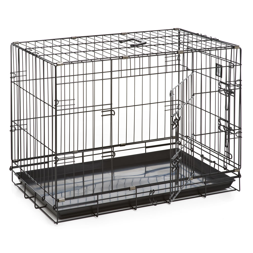 Dog Crate During Day