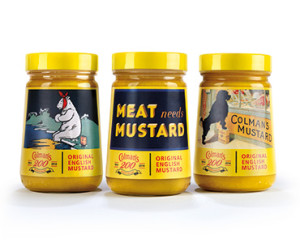 Colmans Limited Edition Mustard Jars. 200 Years