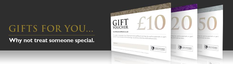 macdonald hotel spa vouchers pered presents