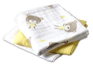 Aldi Baby and Toddler MUSLIN CLOTHS (2)