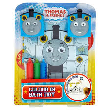 Thomas the tank engine colour in bath tidy