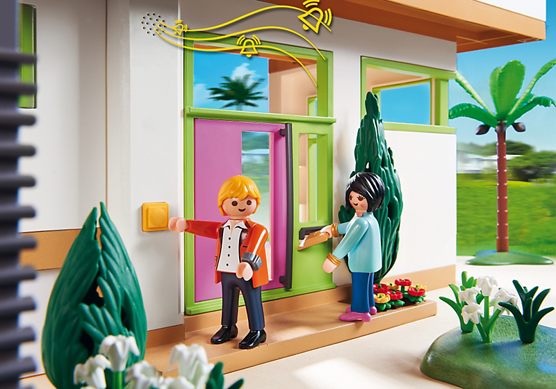 The Playmobil Modern Luxury Mansion will provide hours of ...
