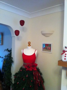 Mannequin Christmas tree