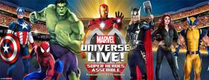 Marvel Universe Live Superheroes assemble
