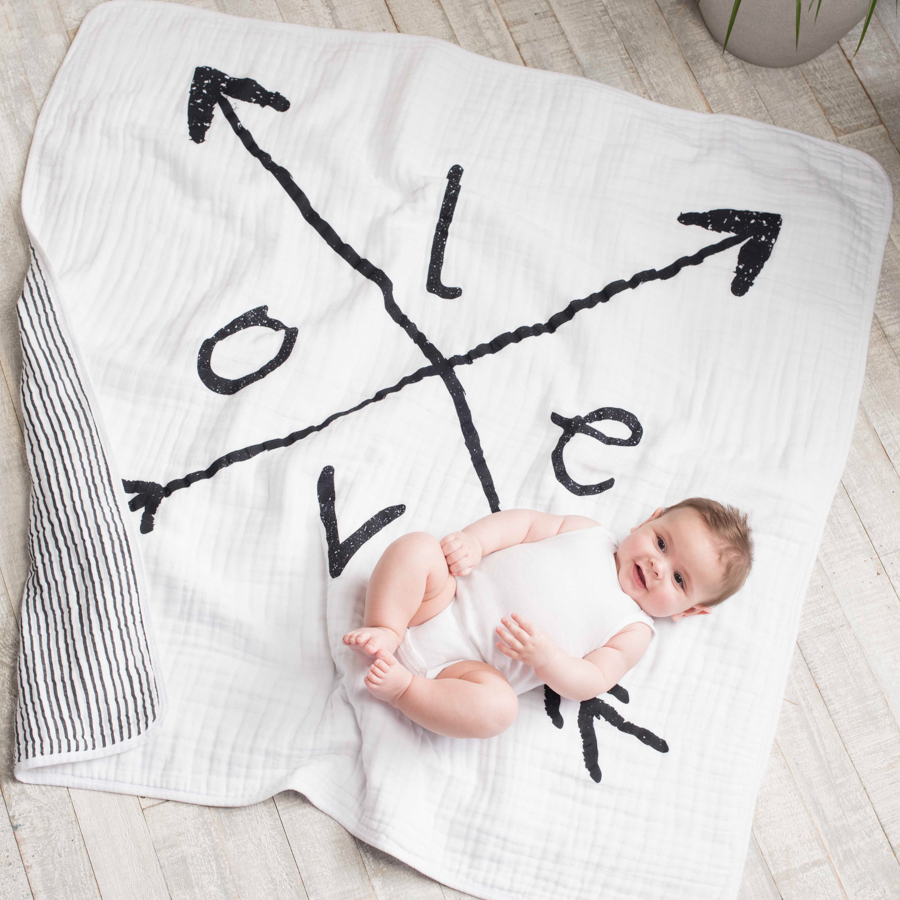 Aden + Anais Lovestruck Dream Blanket