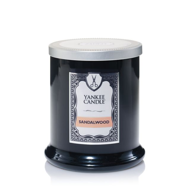 Sandalwood Yankee Candle Barbourshop collection